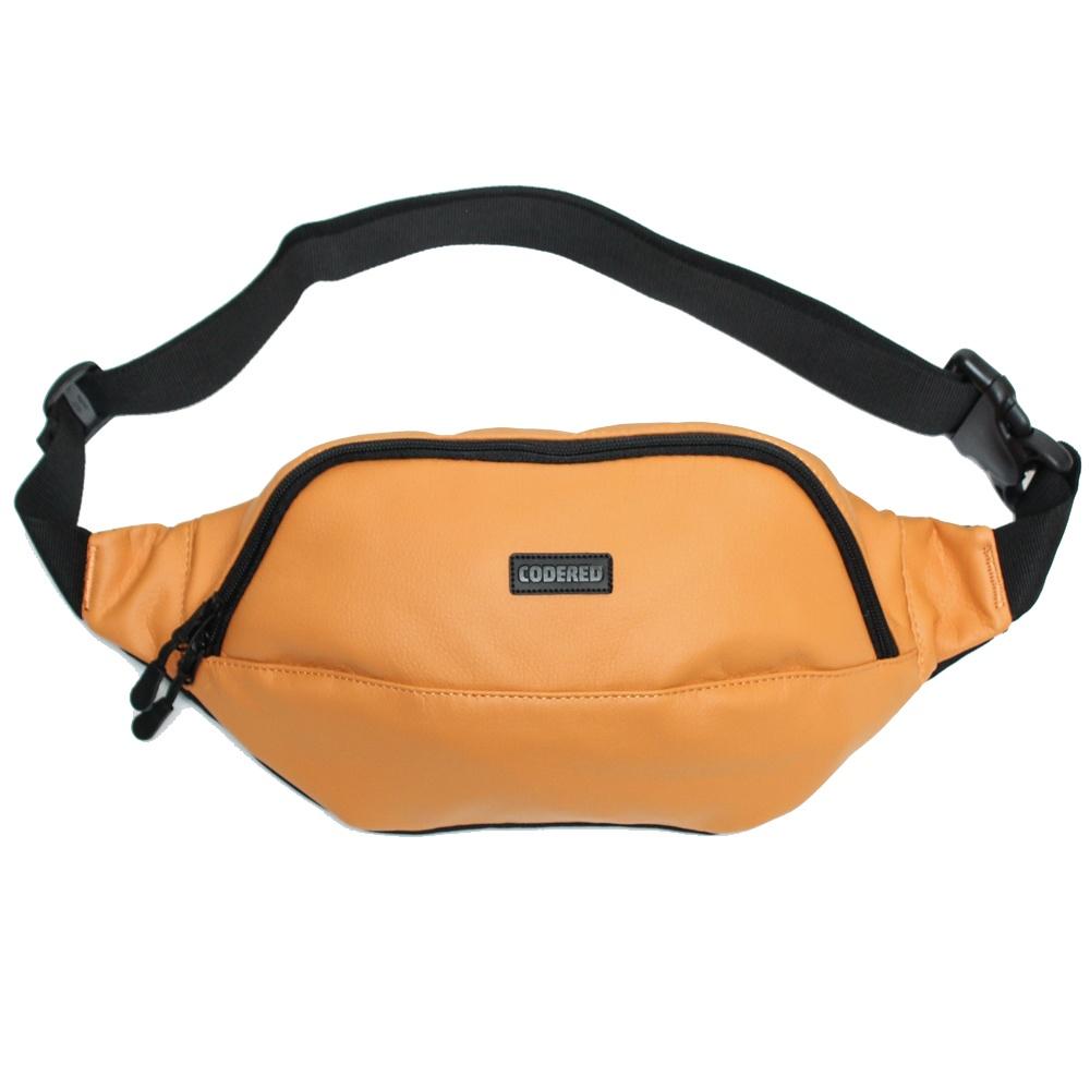 6ad1452f8888 Сумка CODERED поясная Hip Bag Large Оранжевый иск. Кожа купить в Перми —  интернет-магазин FRIDAY